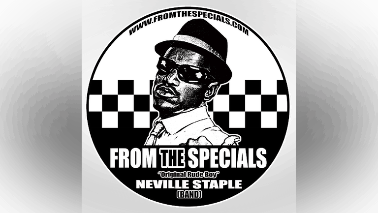 FROM THE SPECIALS   NEVILLE STAPLE BAND ( THE ORIGINAL RUDEBOY)