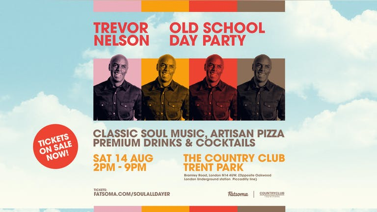 Trevor Nelson's Old School Day Party - Trent Park Country Club London