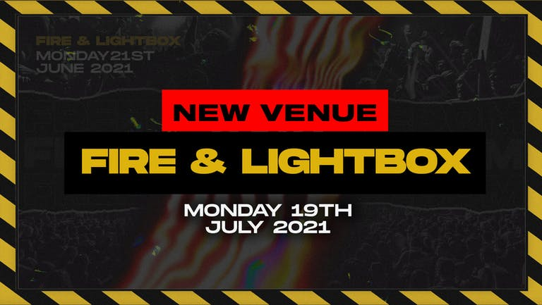 VENUE CHANGE: This show is now at fire & lightbox! The Freedom Rave on July 19th!! Clubbing FINALLY returns!!