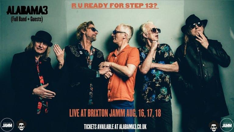 Alabama 3 Full Band Live @ Brixton Jamm (Blues vs Outlaw)