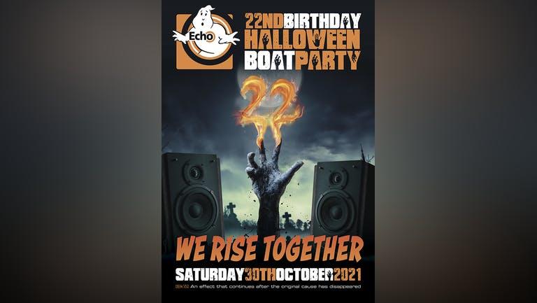 Echo 22nd Birthday Halloween Boat Party