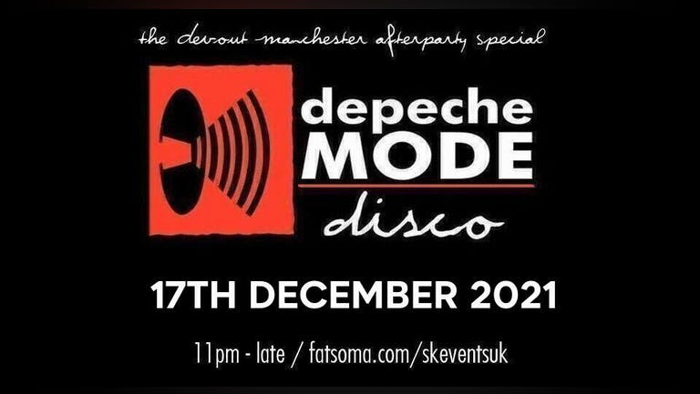 Depeche Mode Disco - The Devout Afterparty - Manchester