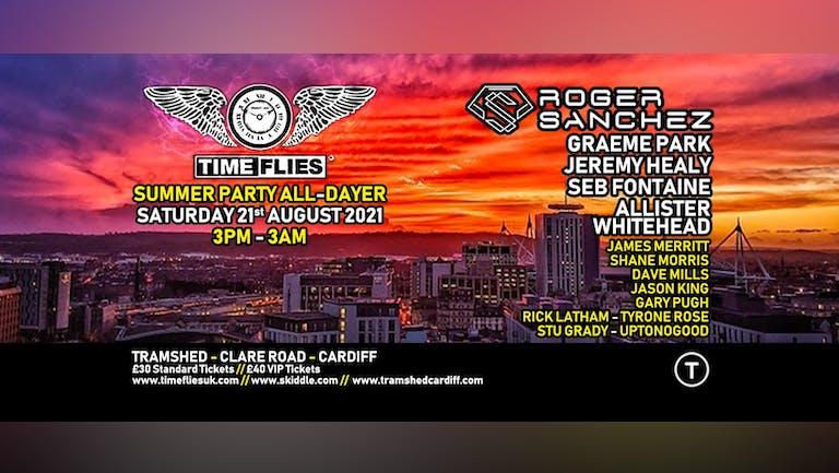 Time Flies Summer Party All-Dayer