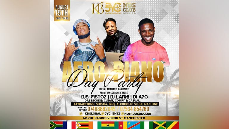 Afro-Piano Day Party