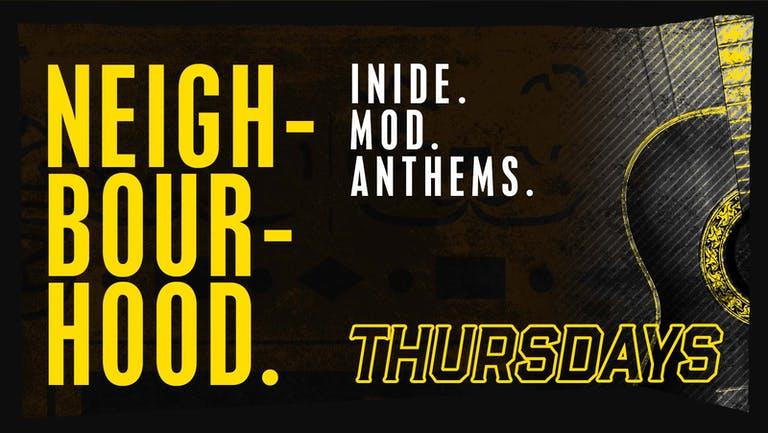 Thursday: Neigh-bour-hood