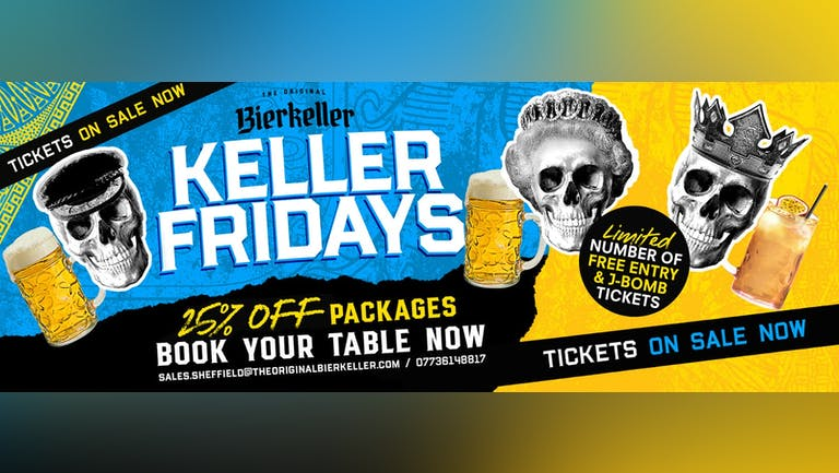 Weekend: Friday packages