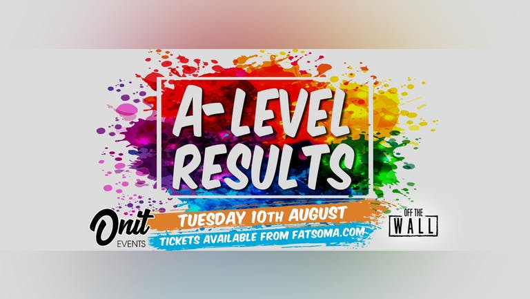 A-Level Results Party