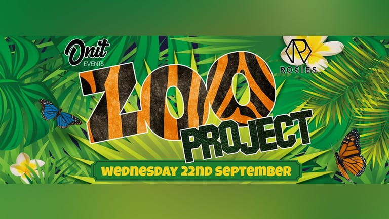 The Chester Zoo Project! - Freshers Wednesday