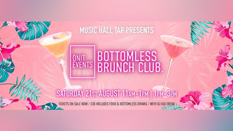 Bottomless Brunch Club - 21st August 2021