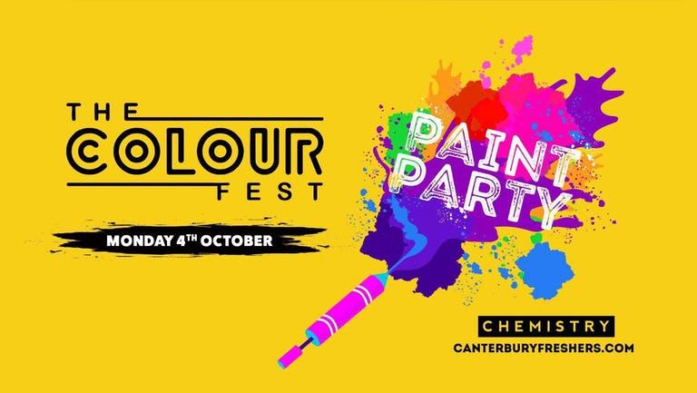 Colourfest Paint Party 2021   Canterbury