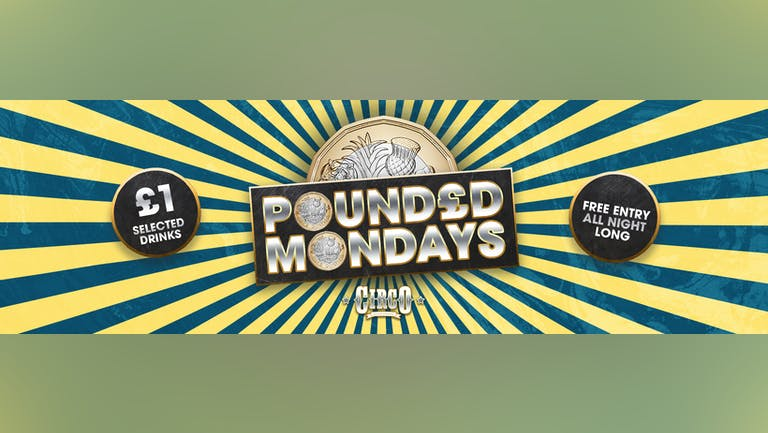 Pounded Mondays - Summer Sessions