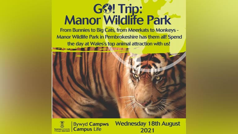 Go! Trip: Manor Wildlife Park