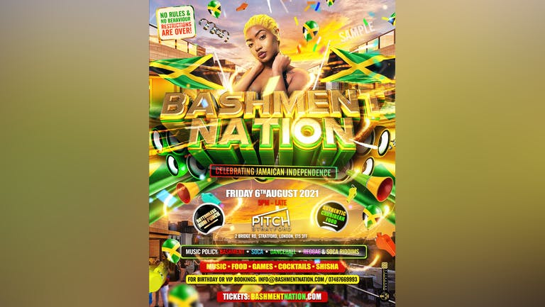 BASHMENT NATION - Jamaican Independence Party