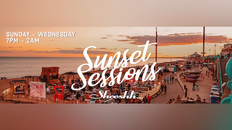 Sunset Sessions at Shooshh on the terrace 19.09.21