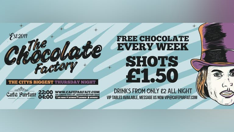 The Chocolate Factory // 100 free tickets!