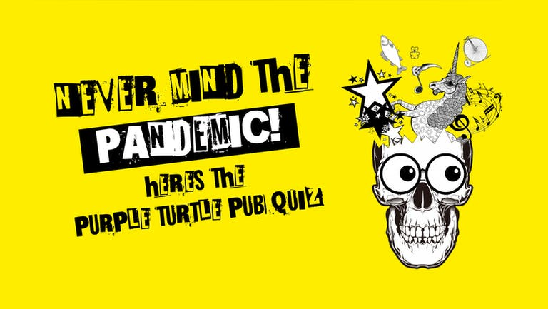 Purple Turtle Quiz (Sold in Tables - £3 pp)