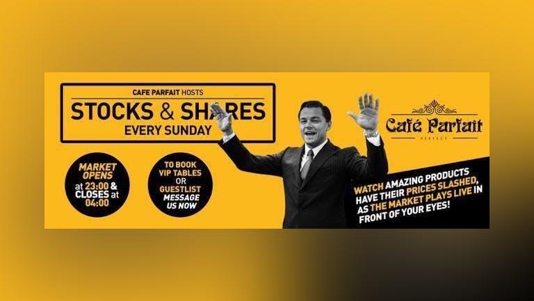 Stocks & Shares Every Sunday At Cafe Parfait