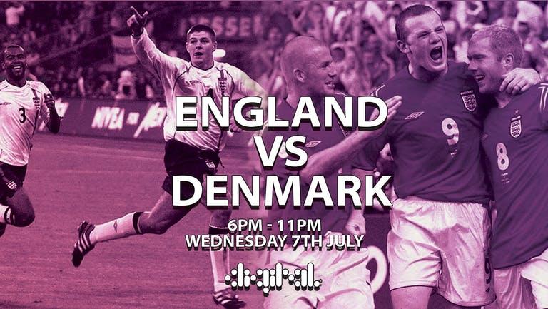 ENGLAND vs DENMARK   SEMI FINAL   WEDNESDAY   DIGITAL   7TH JULY