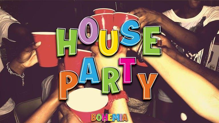 HOUSE PARTY   THURSDAYS   THE LANE (NEW PERDU)   5TH AUGUST