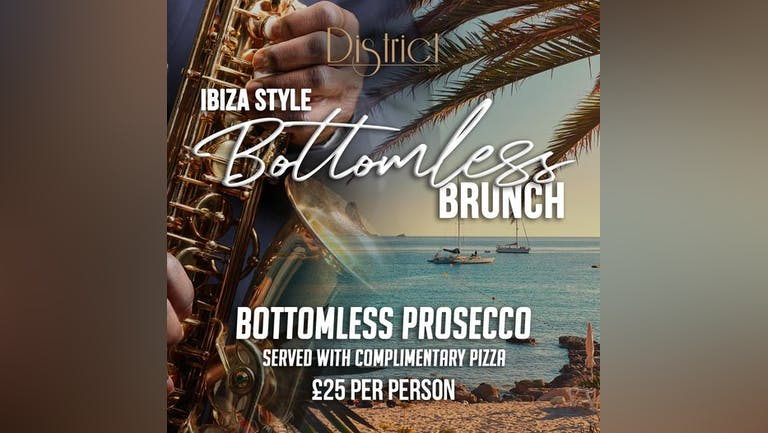 Ibiza Style - Bottomless Brunch - 7th August 2021