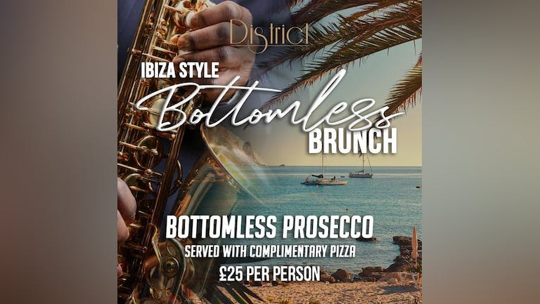 Ibiza Style - Bottomless Brunch - 14th August 2021