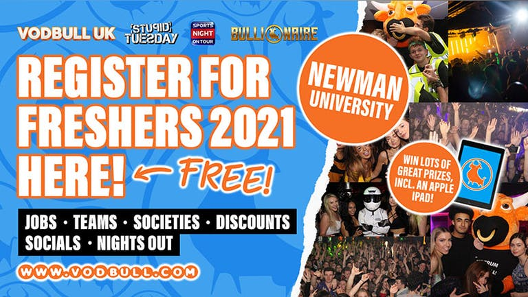 Newman, Sign up for FREE Freshers 2021 Info💥N.B. YOUR PACK IS ON SALE NOW! 💥, see SEPARATE event for tics! Newman University Birmingham Freshers 2021.