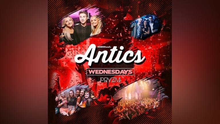 Antics at PRYZM Leeds - 6th October