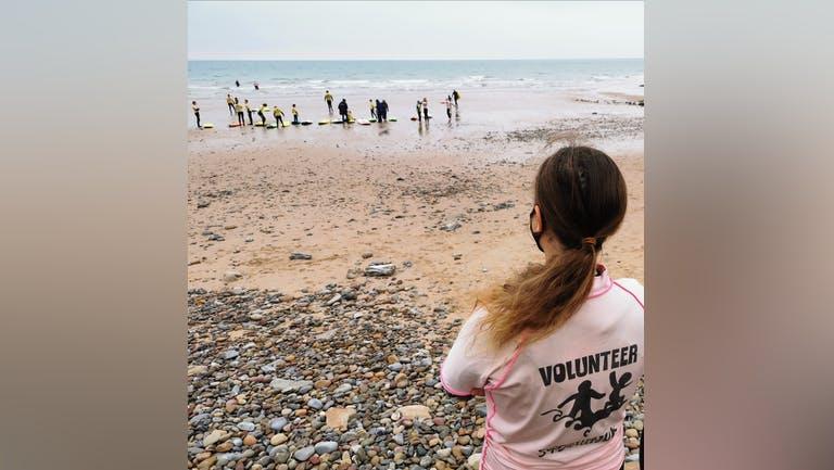 Volunteering at university webinar