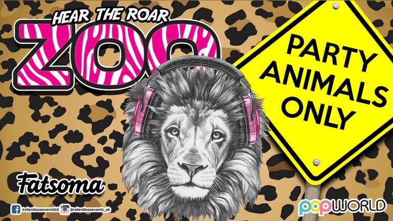 ZOO Wednesday at Popworld Birmingham