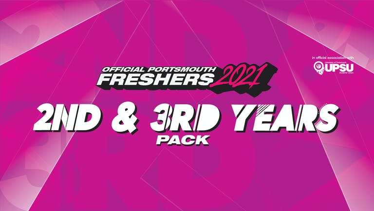 Official Portsmouth Uni 2nd & 3rd Years Pack 2021