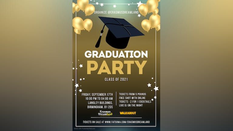 Graduation Party Class of 2021