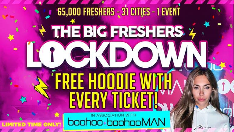 LEICESTER FRESHERS - BIG FRESHERS LOCKDOWN -FREE HOODIE! in association with BOOHOO & BOOHOO MAN !!