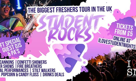 Student Rocks Liverpool