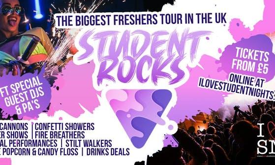 Student Rocks Cardiff