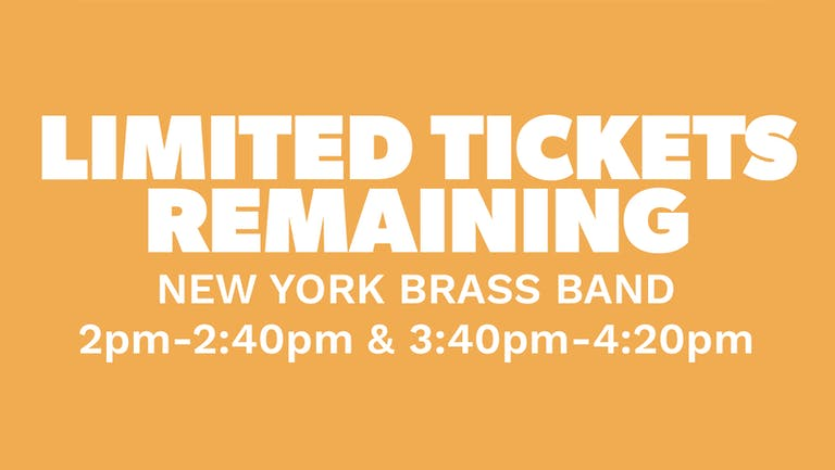 Chow Down: Sunday 22nd August - New York Brass Band (Live)