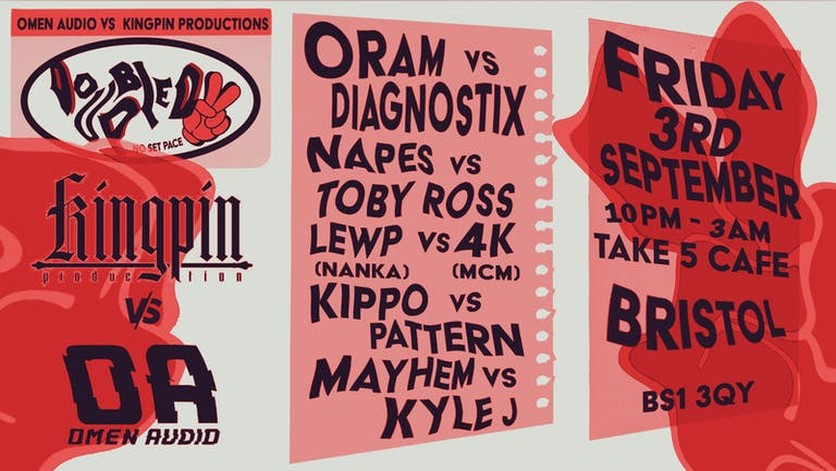 Doubled Up Presents: Kingpin VS Omen