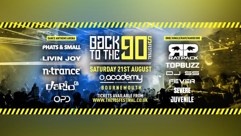 Indoor 90s Festival - Bournemouth 2021 [FINAL TICKETS]