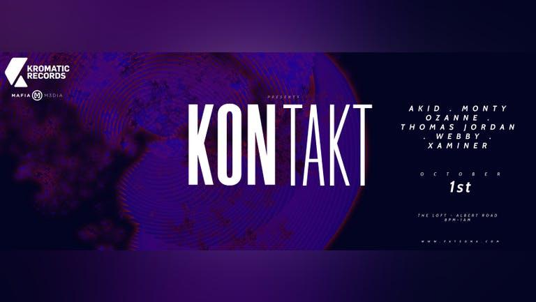 Kromatic Records and Mafia M3dia presents: Kontakt