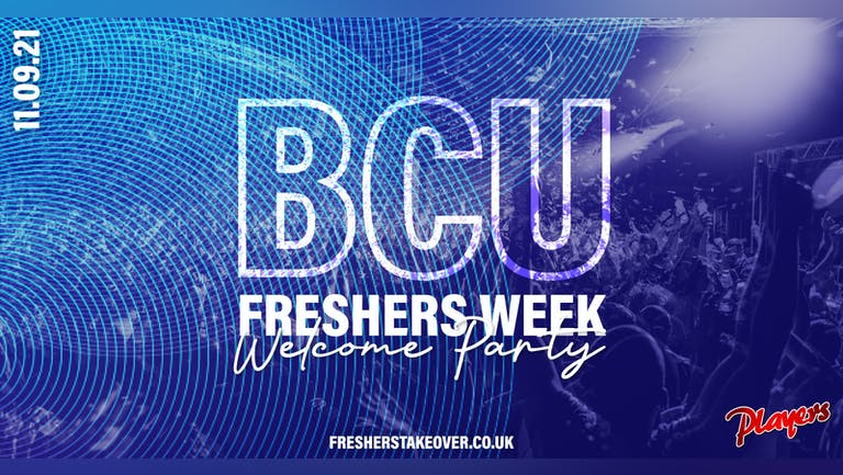 Birmingham Freshers Week Welcome Party