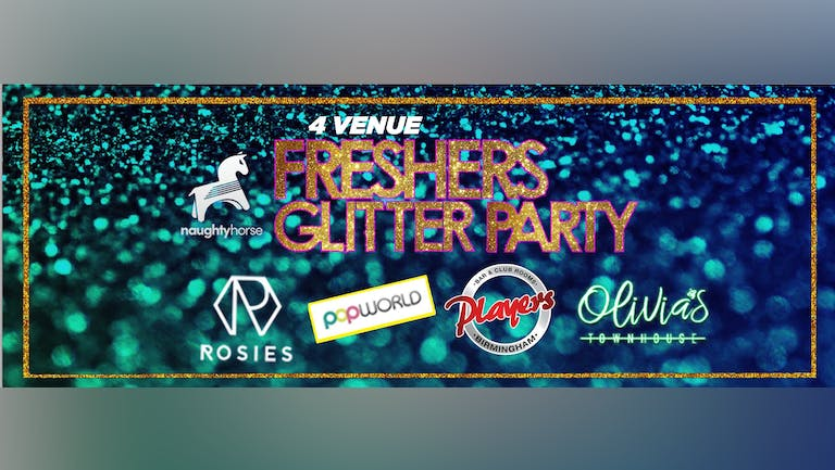 GLITTER BLOCK PARTY - 90% SOLD OUT!  [Naughty Horse]