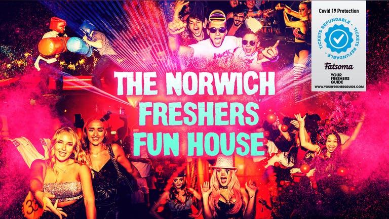 The Norwich Freshers Fun House   Norwich Freshers 2021 - TONIGHT - LAST FEW TICKETS!