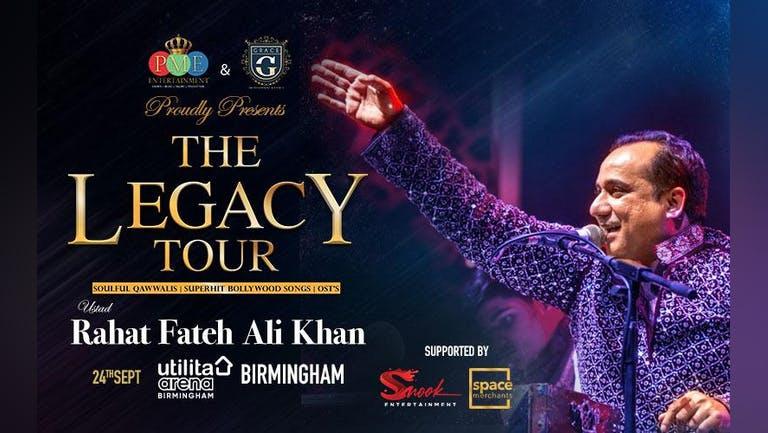 Rahat Fateh Ali Khan - The Legacy Tour 2021 : Birmingham