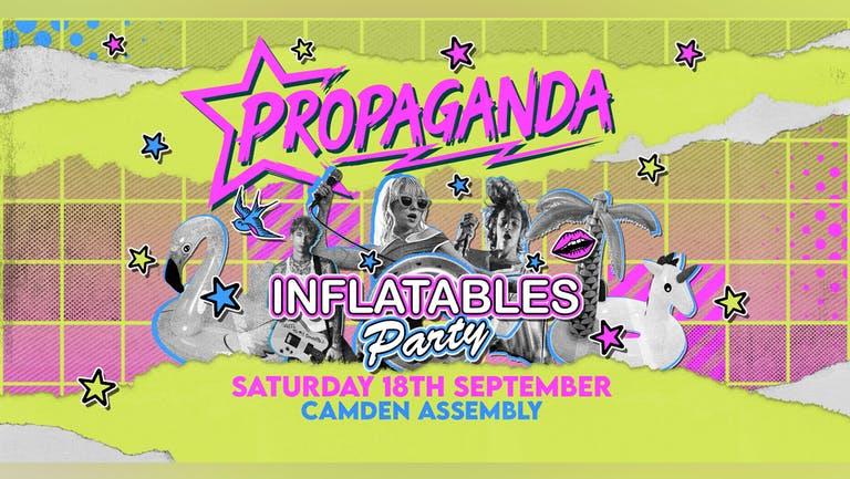 Propaganda London - Inflatables party!