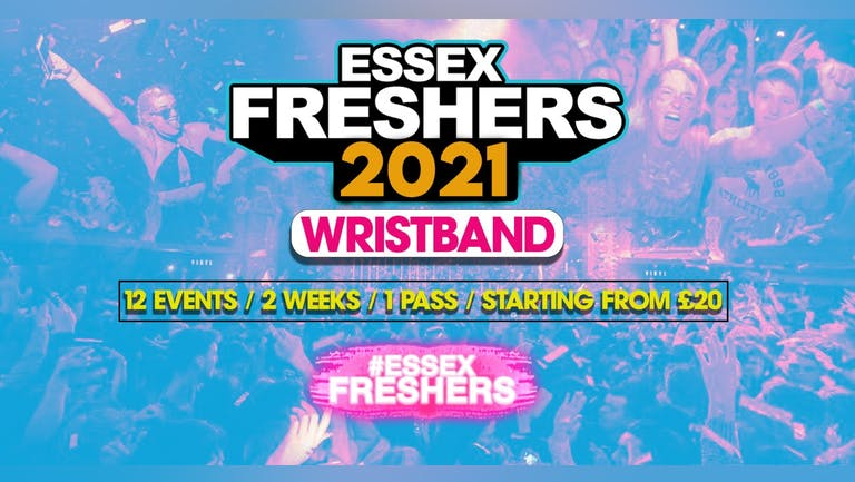 UoE Freshers Fortnight 2021 Wristband - SOLD OUT