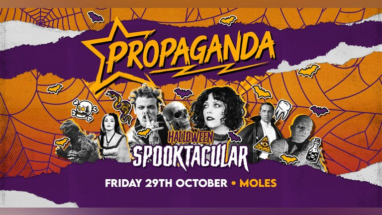 Propaganda Bath - Halloween Spooktacular!