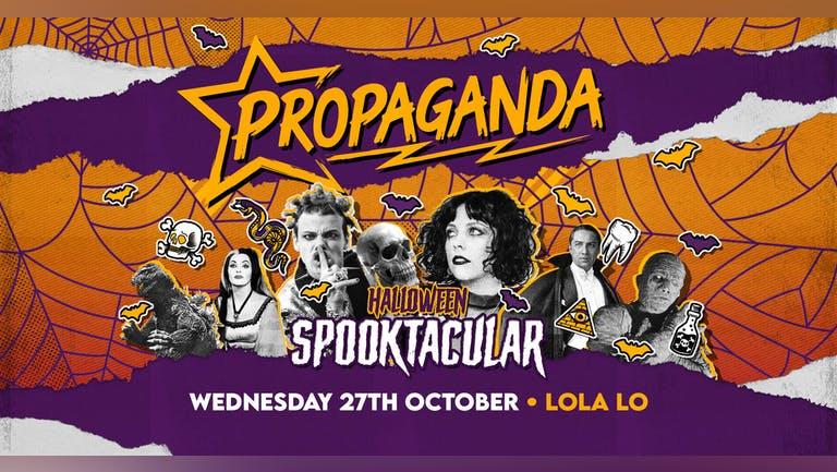 Propaganda Cambridge - Halloween Spooktacular!