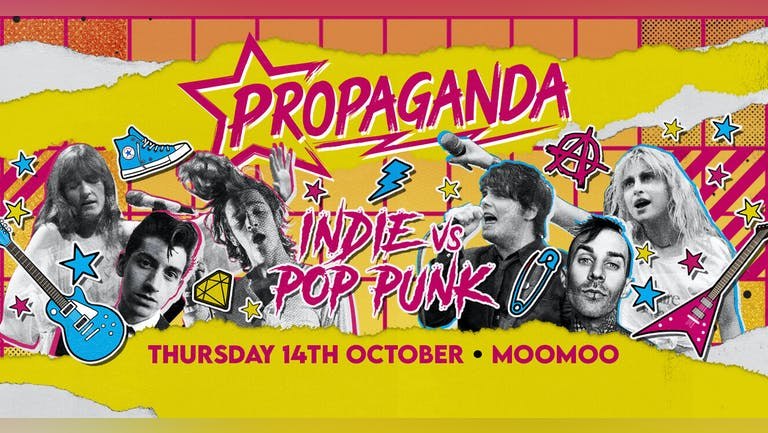 Propaganda Cheltenham - Indie vs Pop-Punk!