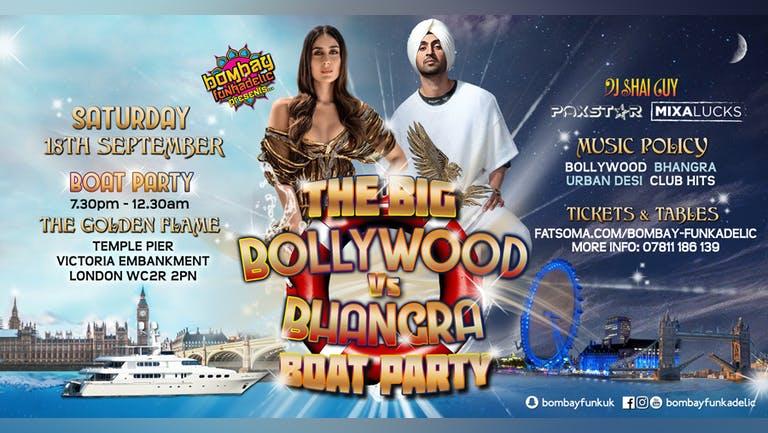 The Bollywood v Bhangra Boat Party