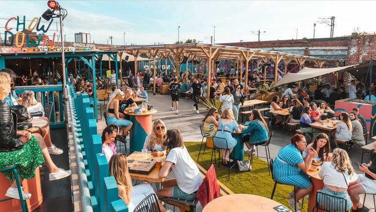 Chow Down: Friday 1st October - UNCOVERED TERRACE
