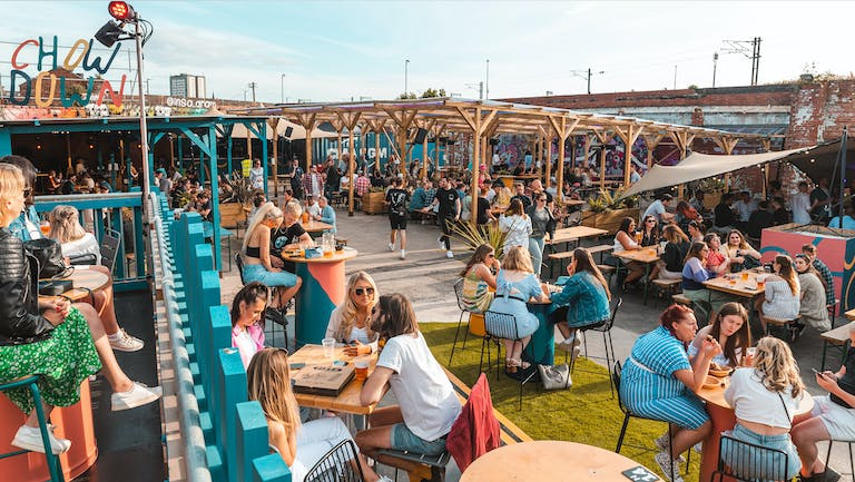 Chow Down: Saturday 25th September - UNCOVERED TERRACE